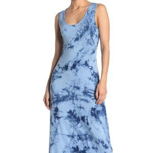 WEST KEI Tie-Dye Racerback Sleeveless Maxi Dress